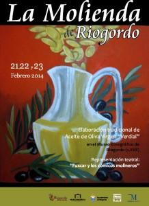 cartel-Molienda Riogordo 2014
