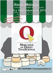 Mercado del Queso Tradicional - Álora Febrero 2014