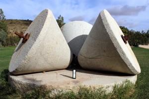 Molino de piedra en Finca La Torre