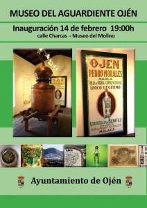 Hoy viernes se inaugura oficialmente el Museo del Aguardiente de Ojén.