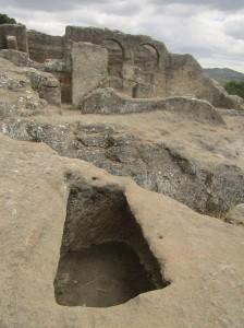 Las ruinas de Bobastro, que se pueden visitar, están situadas a pocos kilómetros de Ardales