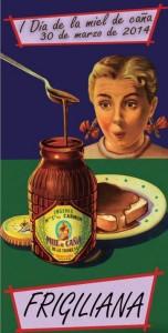 cartel día de la miel de caña