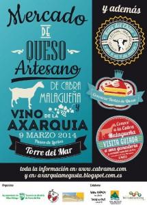 III Mercado de los Quesos Artesanos de Cabra Malagueña y Vino de la Axarquía.