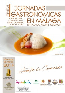 El Hotel Escuela Convento de Santo Domingo (Archidona) celebra 'Tiempos de Cuaresma'.