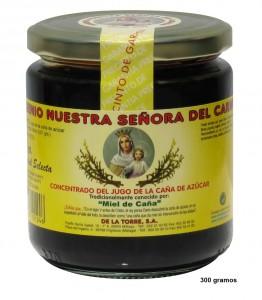 Bote clásico de miel de caña de Frigiliana.
