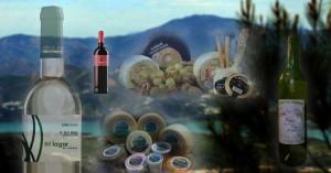 quesos de cabra malagueña y vinos de la axarquía