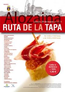 Cartel de esta edicion de la Ruta de la Tapa de Alozaina.