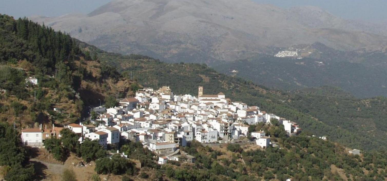 Vista aérea de Algatocín