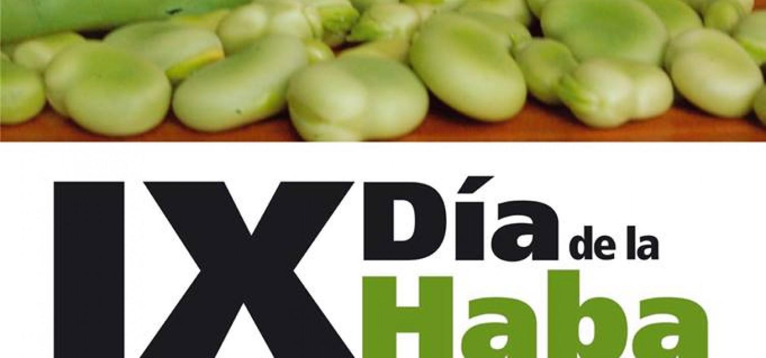 Cartel del 9 Día de la Haba en Villanueva