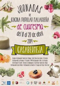cocina popular malagueña Cuaresma