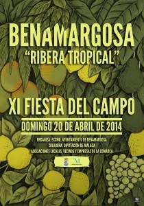 Cartel de la XI Fiesta del Campo en Benagarmosa