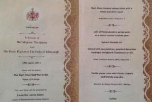 Este vino ha sido incluido en el menú de un importante evento de la Reina de Inglaterra.