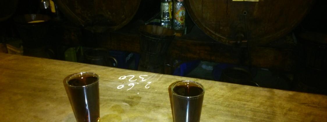 Los templos del vino dulce malagueño. Tascas con tradición