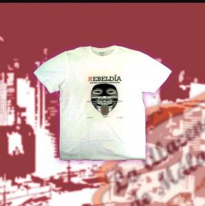 Camisetas Cerveza Artesana Rebeldía