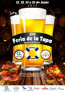 Cartel de la Feria de la Tapa de esta edición.