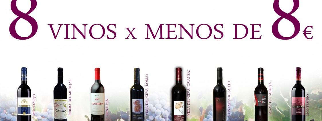8 vinos tintos malagueños por menos de 8 euros