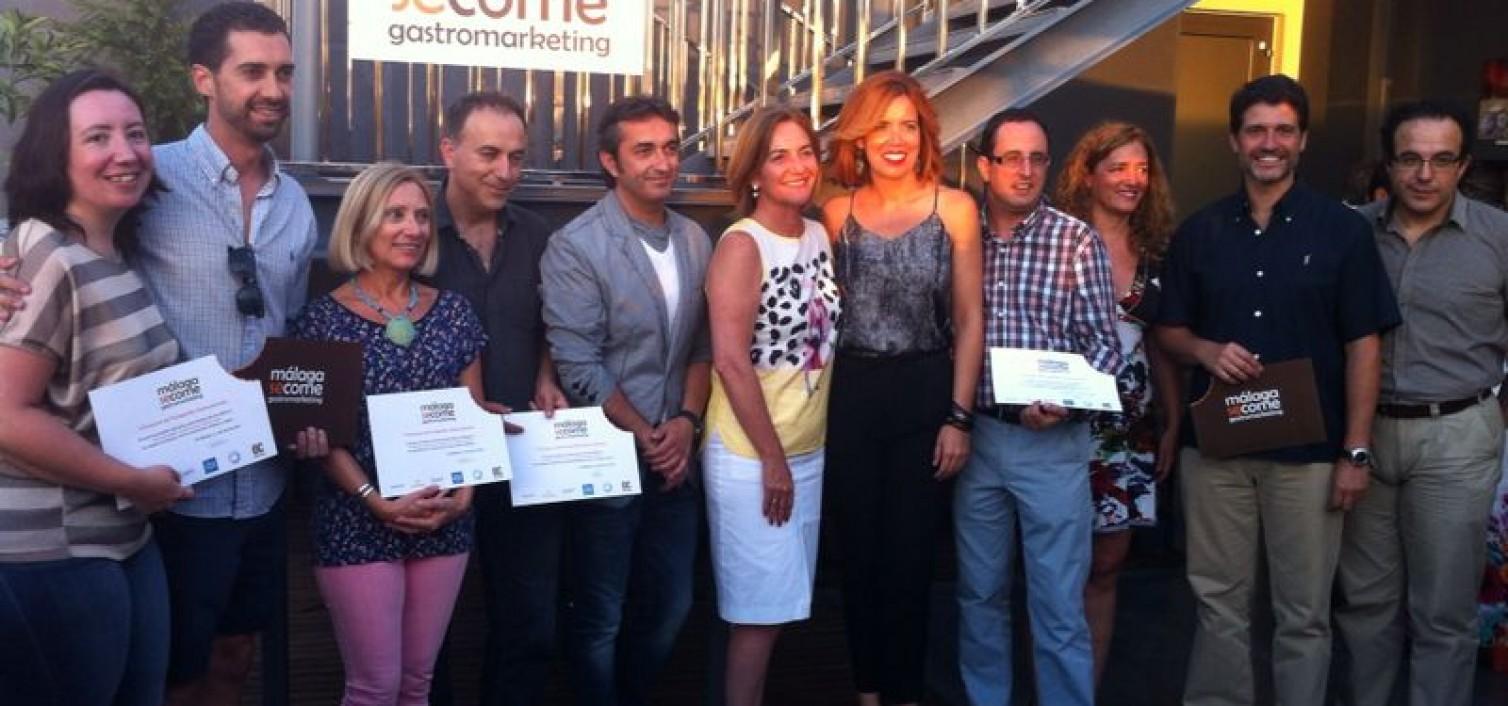 Entrega de premios del I Concurso de Fotografía Gastronómica 'Málaga se come'