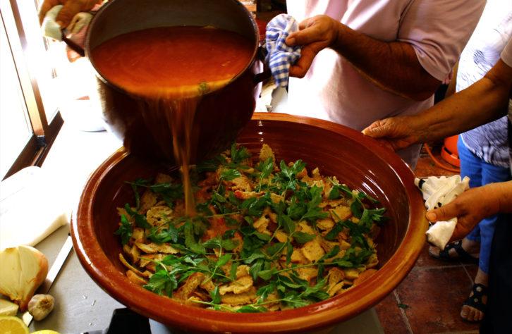 Receta de la sopa mondeña