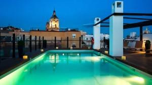 Terraza del Hotel Molina Lario