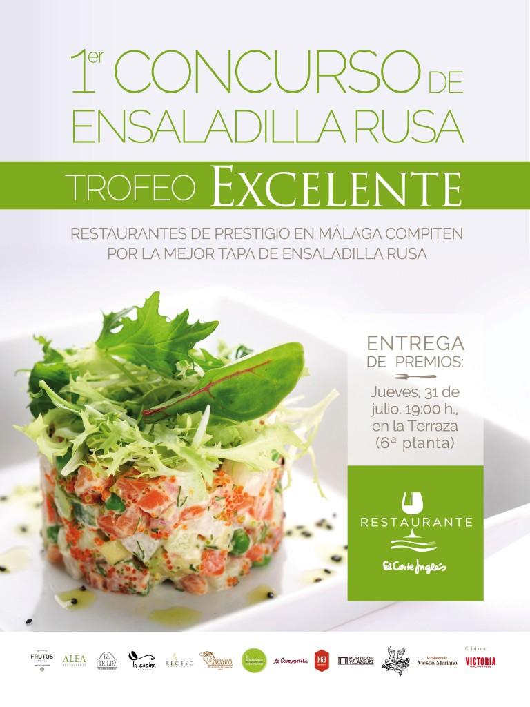 Primer Concurso de Ensaladilla Rusa - Trofeo Excelente  ECI Málaga