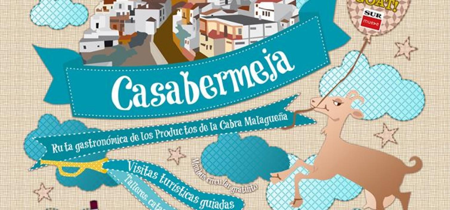 CARTEL DE LA FIESTA DE LA CABRA MALAGUEÑA