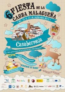 Cartel de la Fiesta de la Cabra Malagueña 2014