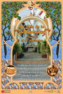 Cartel de la décima edición del Día de la Almendra.