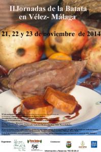 Jornadas sobre la batata en Vélez-Málaga 2014