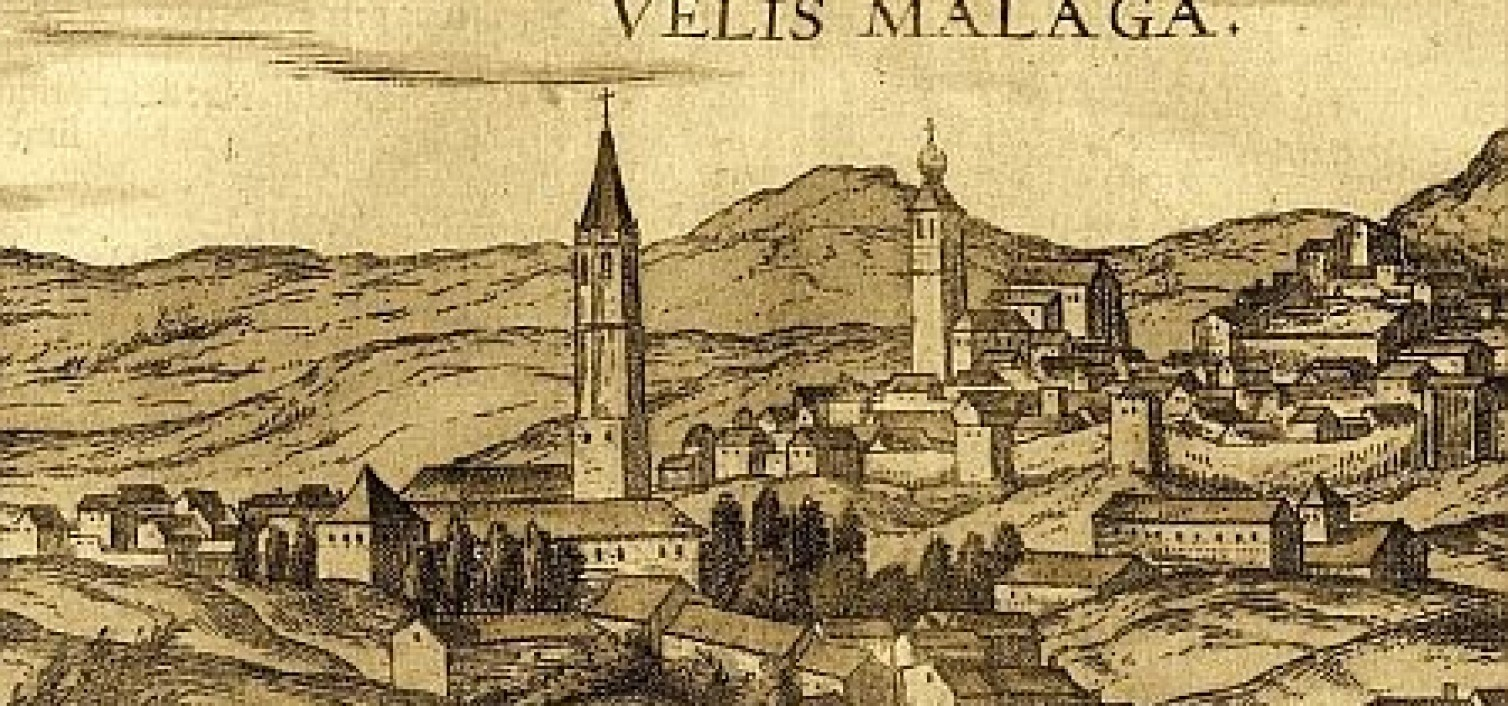Cartel de la jornadas de batatas de Vélez