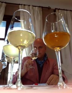 Jurado de los premios Sabor a Málaga catando los vinos malagueños presentados a concurso