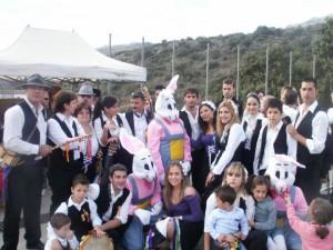 Cada año la panda de verdiales de Parauta actúa en esta fiesta.