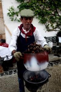 Las castañas asadas son protagonistas en varios eventos del otoño malagueño.