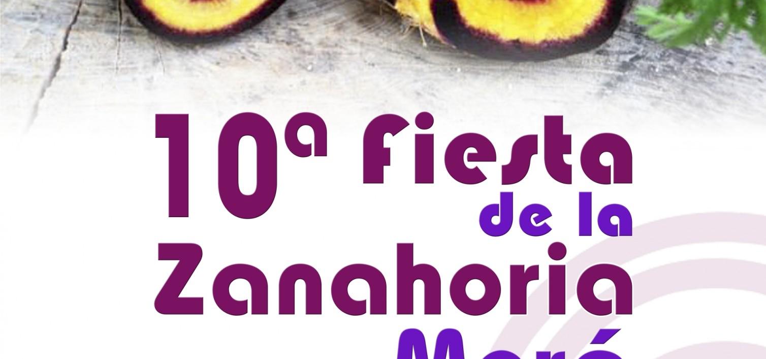 cartel de la Fiesta de la Zanahoria Morá