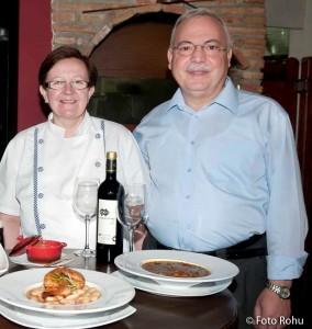Elisa Cadenas y Juan Díaz - Restaurante Alborada