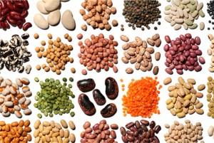 Hay una gran variedad de legumbres.