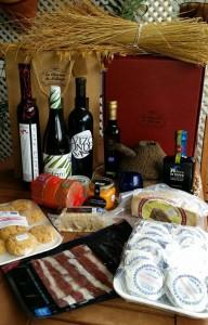 Algunos de los productos exclusivos que se pueden elegir con la tarjeta de regalo de La Alacena de Málaga