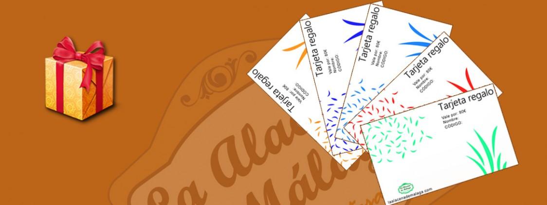 7 ventajas de las tarjetas de regalo de La Alacena de Málaga