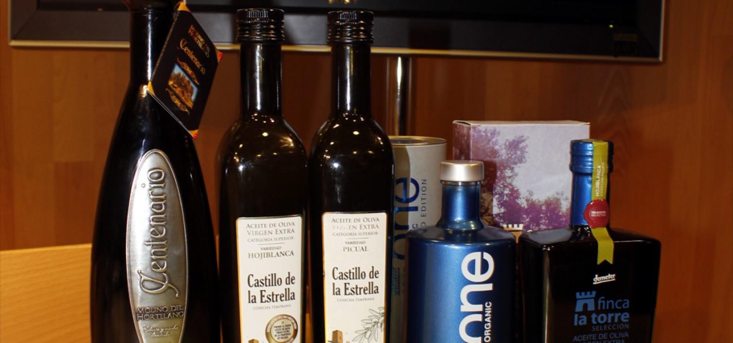 Algunos de los mejores aceites presentados en AOVESOL 2015