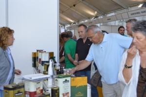 En esta feria se podrán comprar más de medio centenar de aceites andaluces.