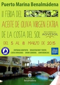 Segunda Feria del Aceite de Oliva Virgen Extra de la Costa del Sol.