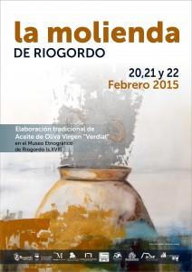 Cartel de esta cuarta edición de la Molienda de Riogordo.