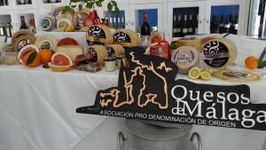 Quesos artesanales de Málaga.