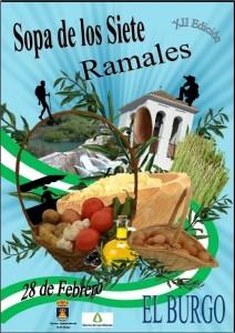 Cartel de la Sopa de los Siete Ramales de esta edición.