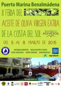 Feria del aceite de oliva virgen extra de la Costa del Sol