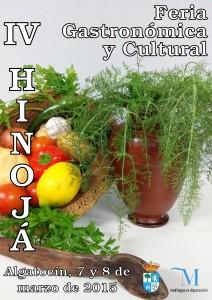 Cartel del la IV Hinojá de Algatocín