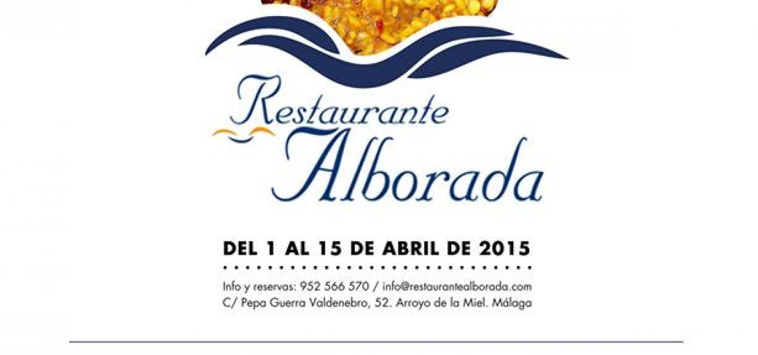 Quincena de arroces en Alborada
