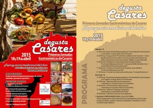 Casares ha prepatado un amplio programa de actividades para el fin de semana.