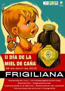Cartel de la segunda edición del Día de la MIel de Frigiliiana.