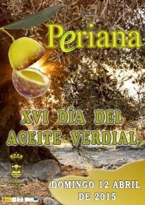 Periana celebra cada mes de abril la fiesta de su oro líquido.