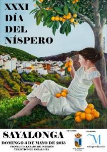 Cartel de la XXI edición del Día del Níspero.